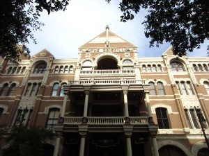 The Driskill Hotel in Austin's historic district is where the likes of Elton John, Cyndi Lauper and other celebrities choose to stay when in town.